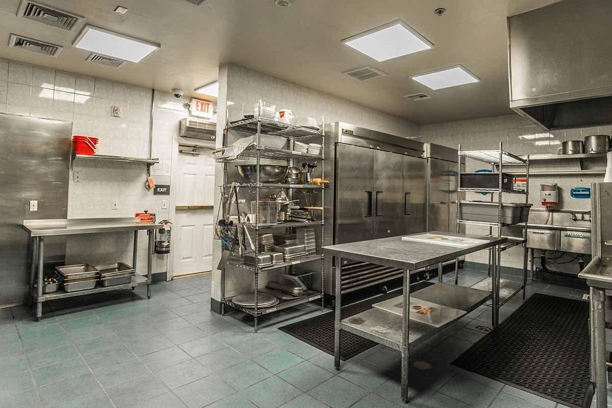 kitchen facility at nevada addiction rehab center