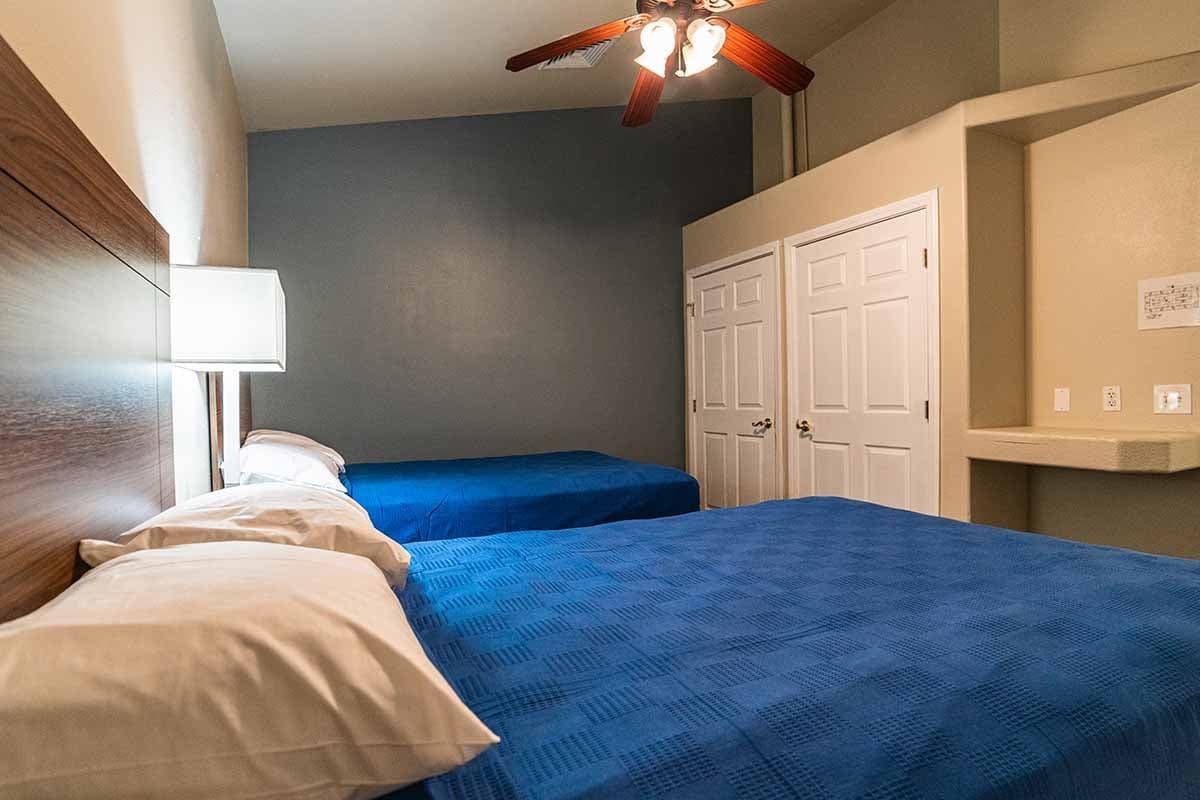 twin room in nevada addiction rehab center